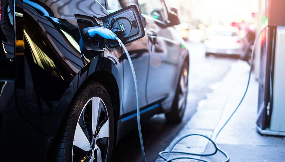Electric charging stations throughout the UK